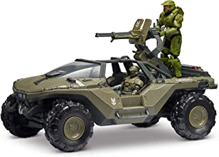 "HALO 4"" ""World of Halo"" Master Chief & UNSC Marine Action Figures Plus Warthog Vehicle"