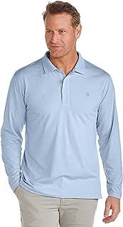 UPF 50+ Men's Coppitt Long Sleeve Weekend Polo Shirt - Sun Protective
