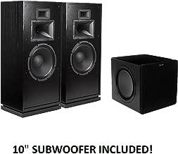 Klipsch Forte III Heritage Series Speakers (Black) with Klipsch SW-311 Subwoofer Package