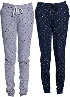 Vimal Women's Cotton Trackpants - Set of 2