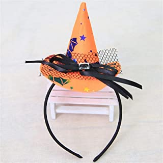 Costumes Pumpkin Sorceress Hat Halloween Witch Hat Fancy Dress Party Costume Cap Party Decor for Kids Caps Adults Kids Cos...