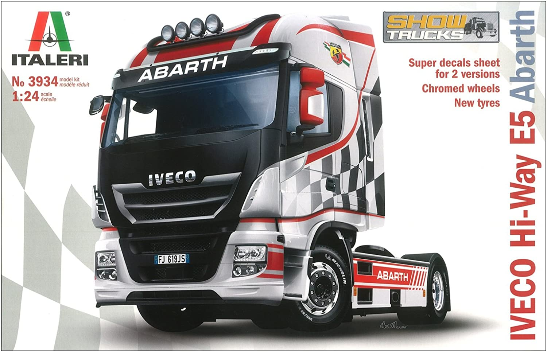 Italeri Iveco HIWY E5 'Abath' 3934 1 24 Truck Model Kit