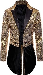 G/én/érique Blazer Slim /à Sequins Brillants pour Homme