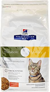 Hill'S Prescription Diet Metabolic + Urinary Feline - Chicken Flavor - 12Lbs