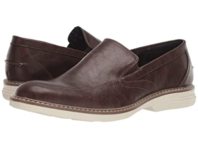 Ben Sherman Countryside Slip-On (Brown PU Leather) Men