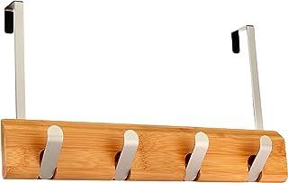 Amazon Basics Patère de porte à suspendre - Crochet rabattable