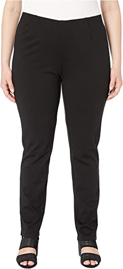 Plus Size Viscose Stretch Ponte Pants