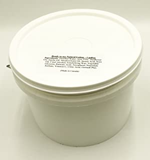 1 Gallon of Natural Body Lotion