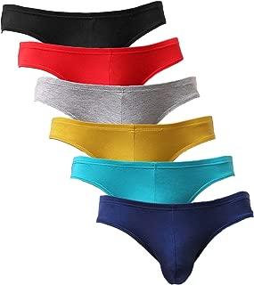 Men's Modal Briefs Soft Breathable Stretch Low Rise Underwear