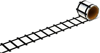 Monta products Adhesive Train Tracks, 17 feet of Fun for Kids of All Ages. let Them Learn and Imagine While Playing.