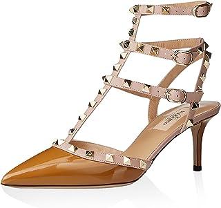 حذاء نسائي بشريط كاحل روكستاد من فالنتينو