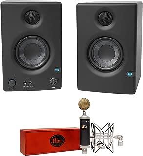 Blue Baby Bottle SL Studio Condenser Recording Microphone Mic+Presonus Monitors