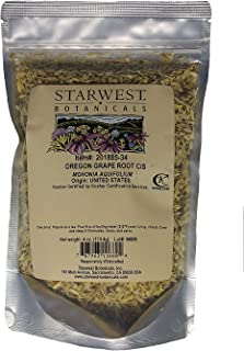 Oregon Grape Root C/S Wildcrafted - 4 oz