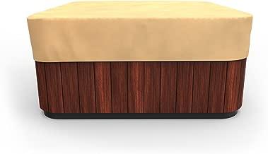 Budge P9A16SF1 All-Seasons Square Hot Tub Cover, 86
