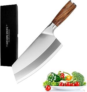 8 pouces Couteau de cuisine Couteau Santoku - 40 Cr13 - Ultra Sharp - Professionnel couteau de cuisine - qualité en acier ...