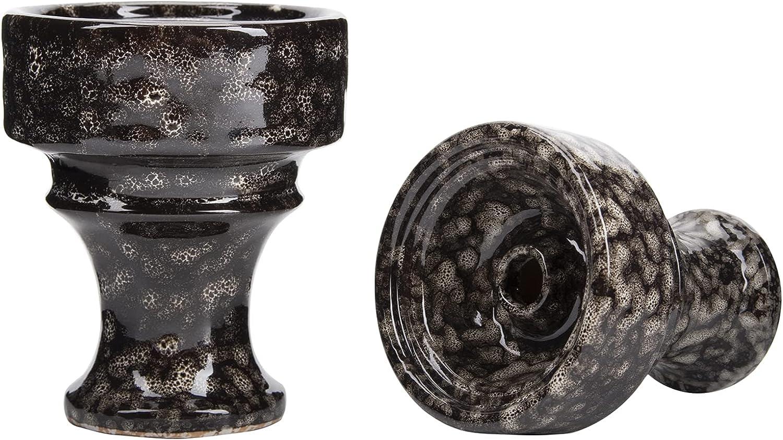 Free shipping on posting reviews Black Hookah Bowl 100% Clay Shisha Mail order cheap Phunnel Tobacco Ceramic