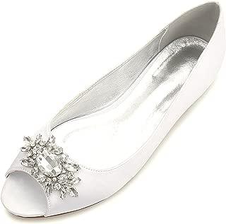 Best flat peep toe bridal shoes Reviews