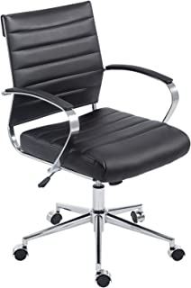 Poly and Bark  Office Chair, Black