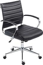 POLY & BARK EM-252-BLK Office Chair, Black