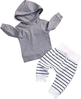 184d6addd5d2 Amazon.com  0-3 mo. - Hoodies   Active   Clothing  Clothing
