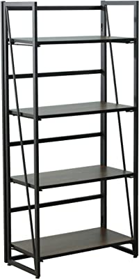 Amazon Com Casual Home 3 Shelf Folding Student Bookcase