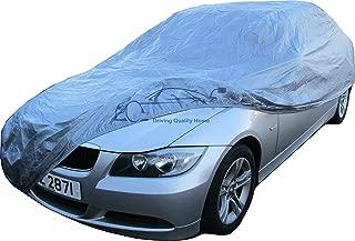 NOVSIGHT Cubierta del Coche Talla M Universal con Cremallera Funda para Coche Auto en 190T Poli/éster Anti-UV 450x175x160CM