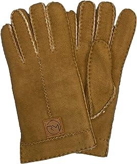 F/äustlinge Rohn Moden Lammfell Handschuhe Arber echt Lammfell f/ür Damen und Herren Fausthandschuhe in Premiumqualit/ät aus spanischen Merinolamm grau