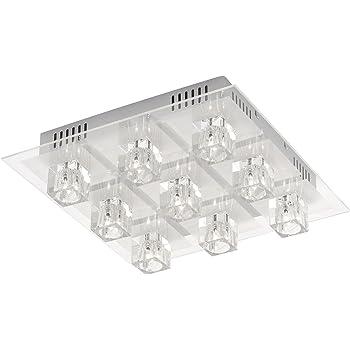 Fernbedienung 4 x G9  LED  68429-4 Lampe Leuchte Globo LED Deckenlampe