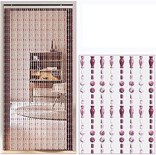 Beads Door String Curtains Multifunction Indoor Partition for Doorway Passage, Restaurant Parts, Wedding Backdrop, 2 Color...