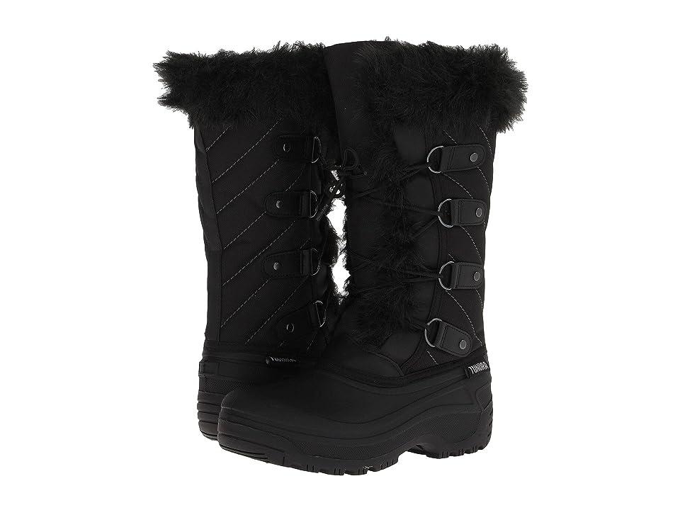 Tundra Boots Kids Diana (Little Kid/Big Kid) (Black) Girls Shoes