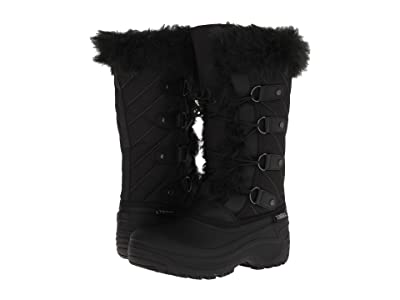 Tundra Boots Kids Diana (Little Kid/Big Kid) (Black) Girls Shoes
