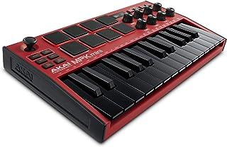 AKAI Professional MPK Mini MK3 – 25 Key USB MIDI Keyboard Controller With 8 Backlit Drum Pads, 8 Knobs and Music Productio...
