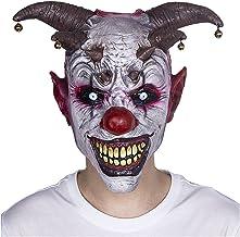 WWWL Halloween mask Halloween skrämmande masker skräck fest cosplay clown latex mask klockor demon clown naturtrogen mask ...