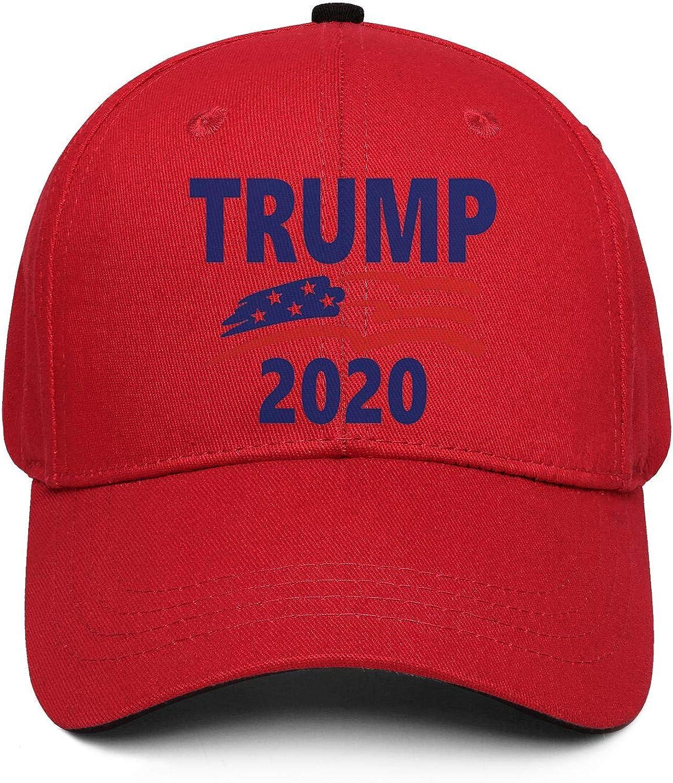 Trump 2020 Dad Hats Baseball Cap Cotton Made Vintage Adjustable Caps for Men and Women Outdoor Activities