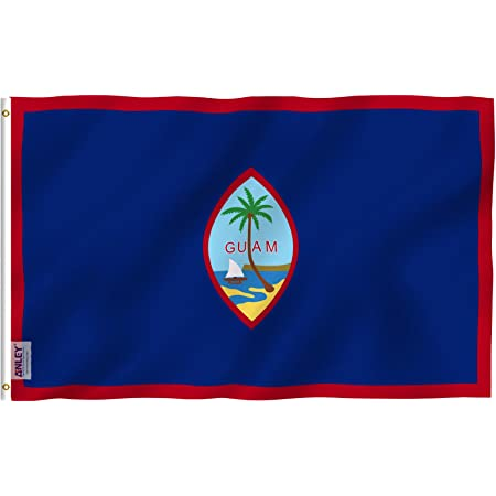 Guam 3x5ft Flag of Guam Guamanians Flag 3x5 House Flag