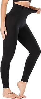 RUNNING GIRL 5 inches High Waist Yoga Leggings, Compression Workout Leggings for Women Shapewear Yoga Pants Tummy Control