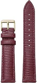 La Boheme 18 mm Burgundy Lizard Leather Strap CLS079 Fits: La Boheme, La Roche & Pavane