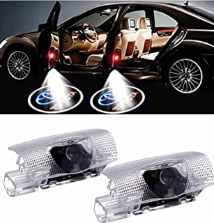 LED Car Door Logo Light Projector for Toyota 2 PCS, Lighting Ghost Shadow Projector Emblem Lights Welcome Lamp Light Acces...