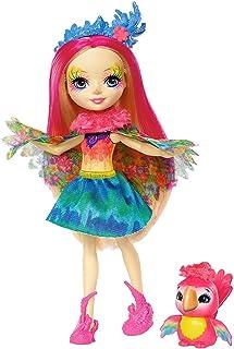 comprar comparacion Enchantimals - Muñeca Peeki Parrot - muñeca, edad recomandada 4 - 10 años (Mattel FJJ21)