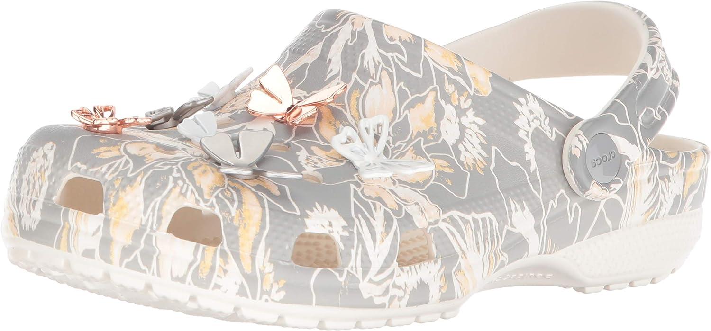 Crocs Womens Clssc Botanical Butterfly Clog Clog