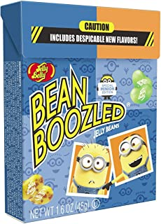 1.6oz BeanBoozeld Jelly Belly Jelly Beans Minion Edition Flip Top Box (1 Pack)