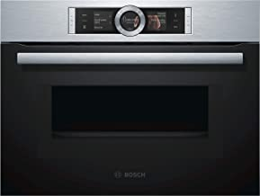 Bosch CMG636BS1 - Horno (Medio, Horno eléctrico, 45 L, 45 L, 30-300 °C, 1000 W)