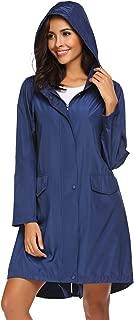SoTeer Womens Lightweight Hooded Waterproof Active Outdoor Rain Jacket Windbreaker S-XXL