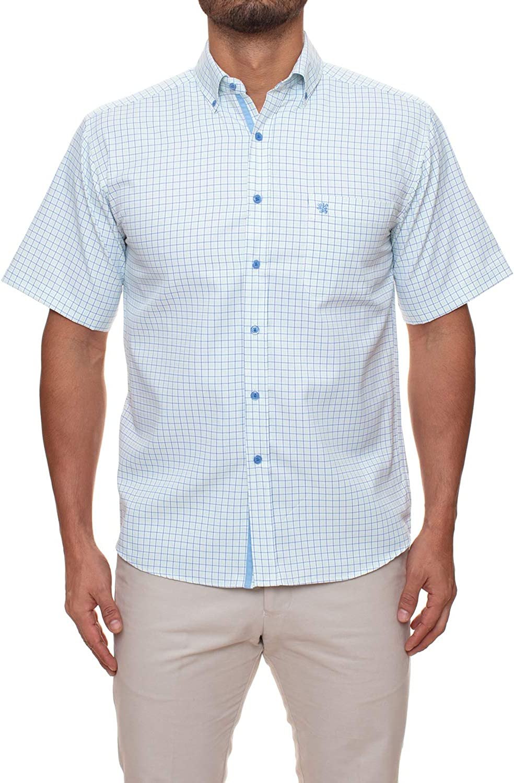 In stock Manchester Men's Dress Shirt Sale SALE% OFF Fit Regular Sleeve Short
