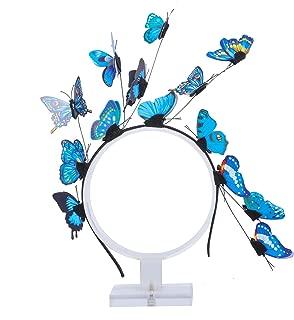 Women's Fascinators Butterfly Party Headband -Haimeikang Hair Accessories Tea Party Supplies Festival Wedding Headband Hair Clip