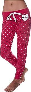 Womens Skinny Jogger Pants Lounge Sleepwear Pajama Bottoms