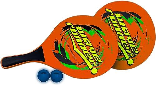 ordene ahora los precios más bajos Waverunner deportes playa palas de madera juego Set incluye incluye incluye 2pelotas, 2remos de madera, 1bolsa ideal para playa piscina parque Interior regalos  genuina alta calidad