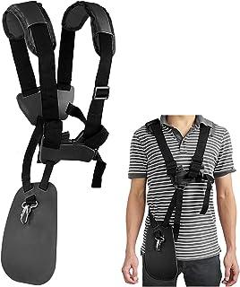 YOUSHARES Trimmer Shoulder Strap - Grass Trimmer Harness Strap, Comfort Strap Double Shoulder Garden, Brush Cutter Lawn Mo...
