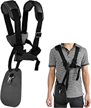 WeiBonD Trimmer Shoulder Strap - Grass Trimmer Harness Strap, Comfort Strap Double Shoulder Garden, Brush Cutter Lawn Mower Nylon Belt for STIHL FS
