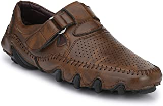Big Fox Men's Perforated Roman Sandals